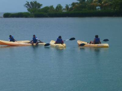First ocean kayak for all Students!