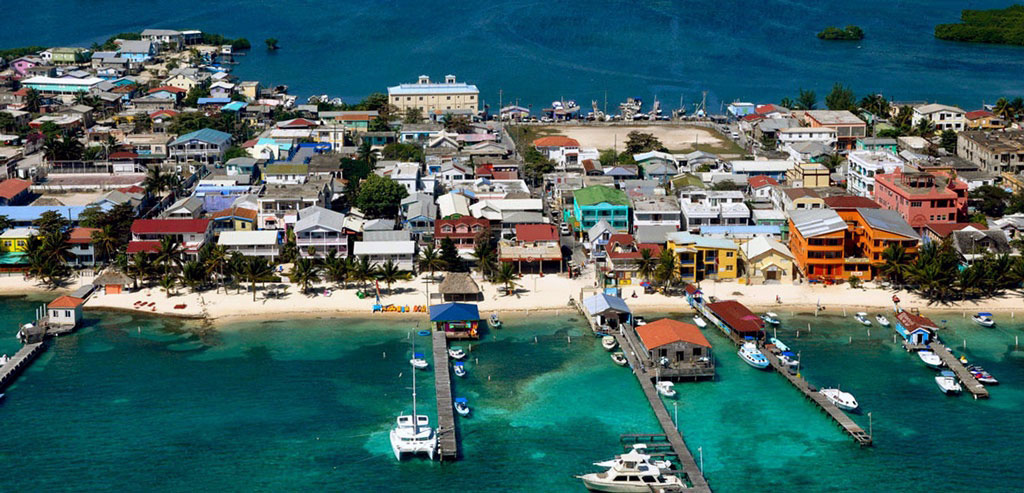 Downtown San Pedro Ambergris Caye Belize