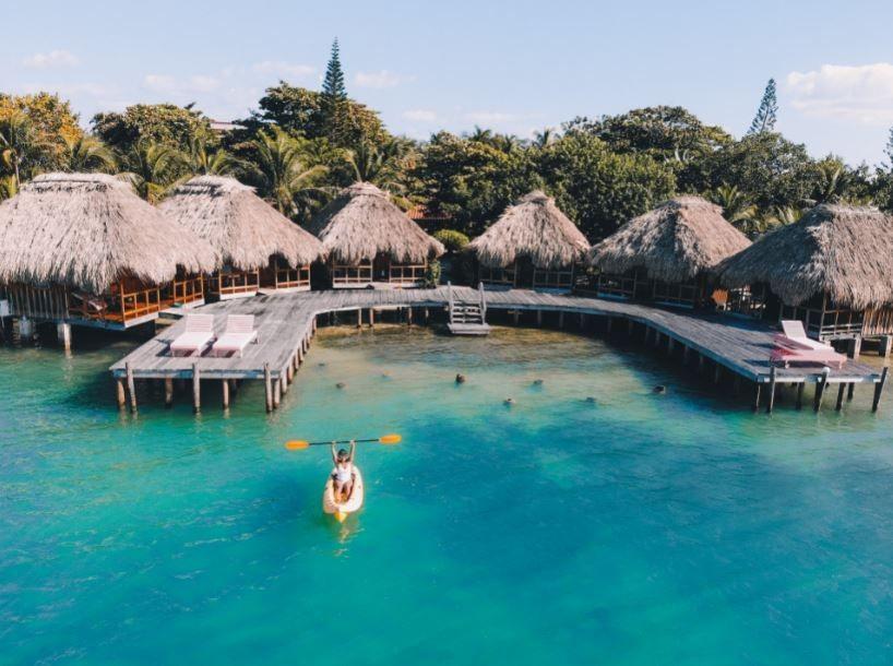 Kayaking---Belize-Island-Paradise---St.-Georges-Caye-Resort-Belize